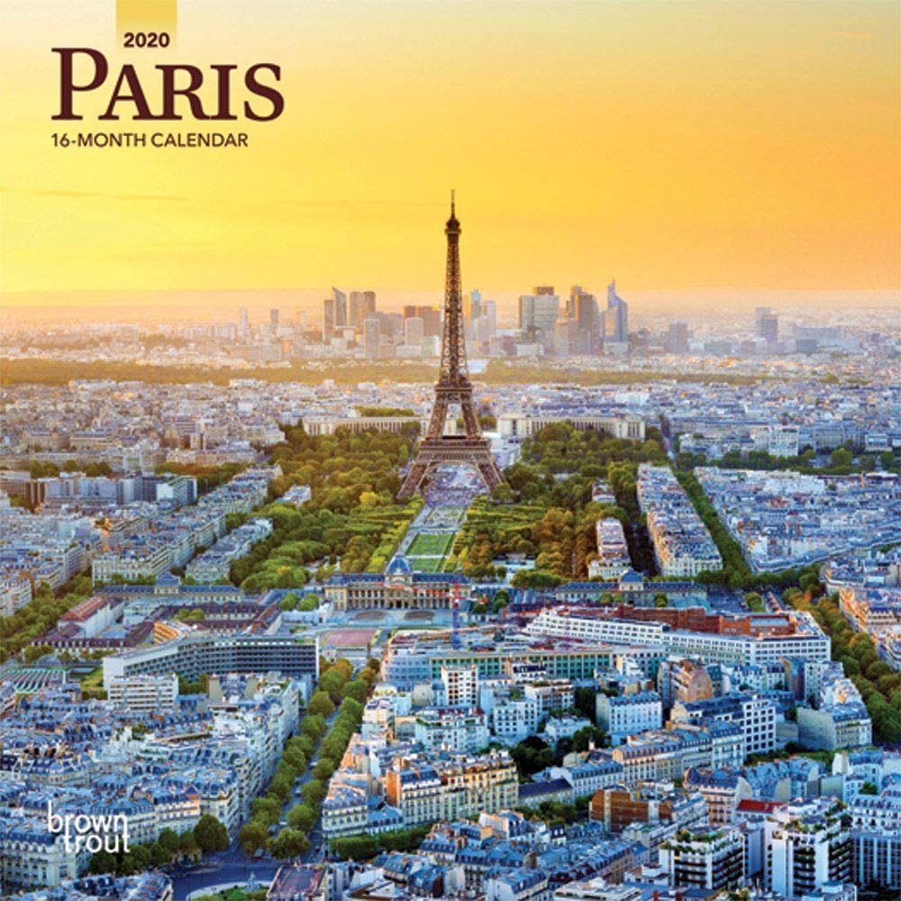BrownTrout_Paris_2020_calendar_cover